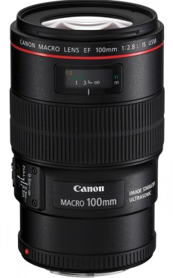 CANON EF 100 mm f/2,8 L IS MACRO USM